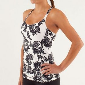 Lululemon Luxtreme Free To Be floral tank